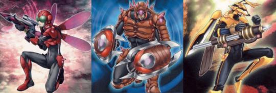 甲虫装機(インゼクター)デッキ