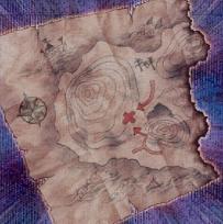 埋蔵金の地図