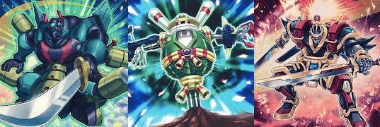 【超重武者】デッキ:デッキレシピ