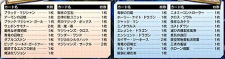 遊戯王DL レジェンド・デッキ・ガイド 闇遊戯VS海馬瀬人 収録