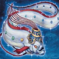 竜宮の白タウナギ