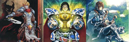 聖騎士(せいきし)デッキ