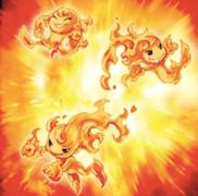 真炎の爆発