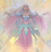 《彼岸の黒天使 ケルビーニ》と《永遠の淑女ベアトリーチェ》