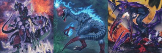 恐竜族デッキ シャドールと相性が良い