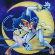 採用されている「月光」カード