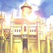 回し方①:《シュトロームベルクの金の城》をサーチ・発動