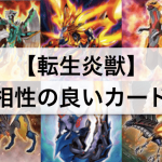 【遊戯王】「転生炎獣(サラマングレイト)」デッキ強化: 相性の良いカード,テーマ13枚まとめ