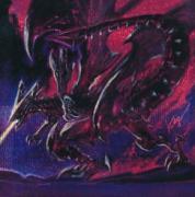 《真紅眼の亜黒竜》