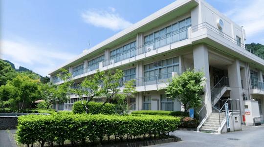 イベントの会場場所OKUTAMA+(旧古里中学校)
