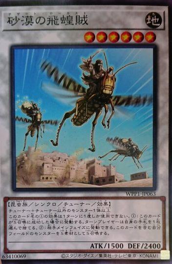 《砂漠の飛蝗賊》