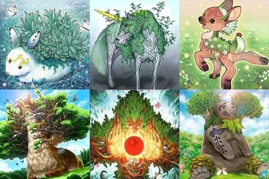 【森の聖獣】デッキレシピ