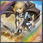 《新鋭の女戦士》